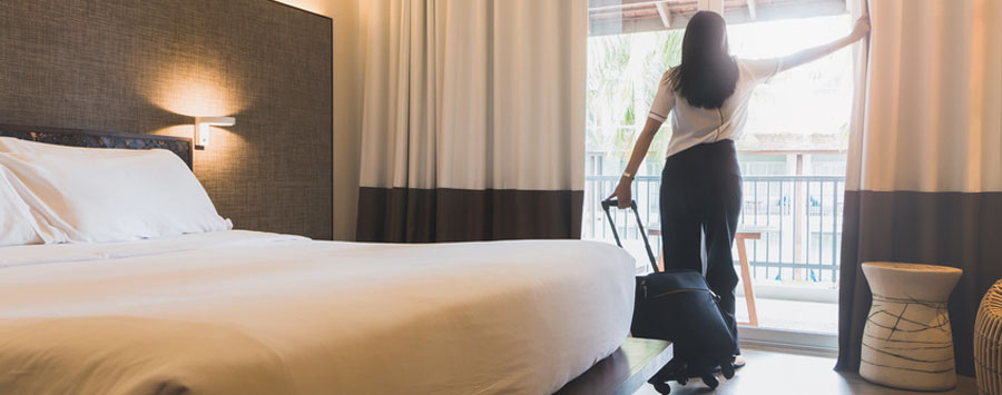 tkaniny do hotelu
